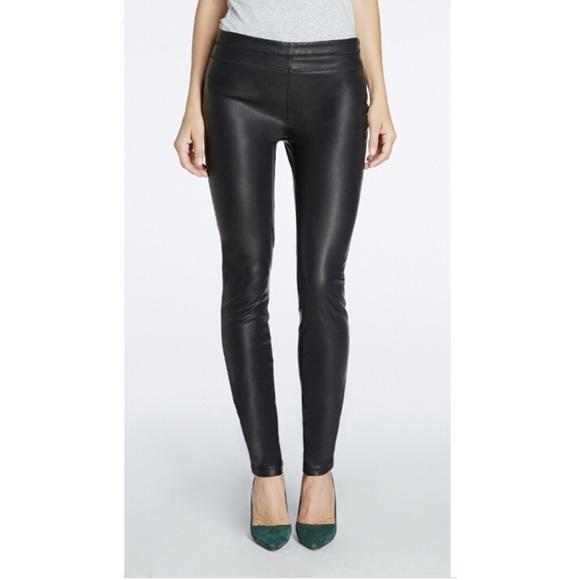fcb10bdd854340 Blank NYC Pants | Blanknyc Vegan Leather Pull Up Skinny Leggings ...